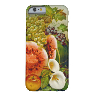 Autumn Fruits c1860 Barely There iPhone 6 Case
