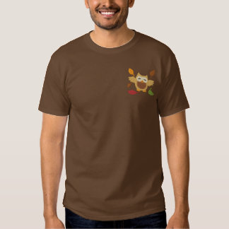 Autumn Fun Embroidered T-Shirt