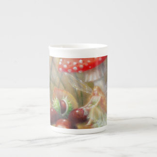 Autumn Glaze tea cup by Lynne Bellchamber