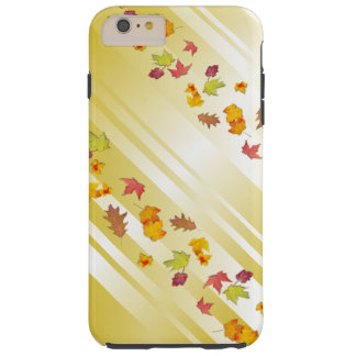 Autumn Gold Falling Leaves iPhone 6 Case
