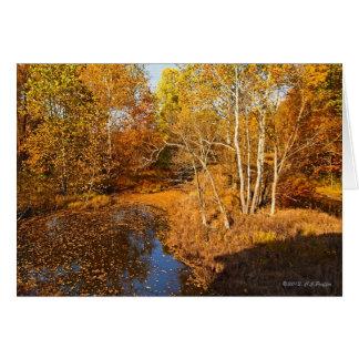 """Autumn Gold"" Greeting Card"