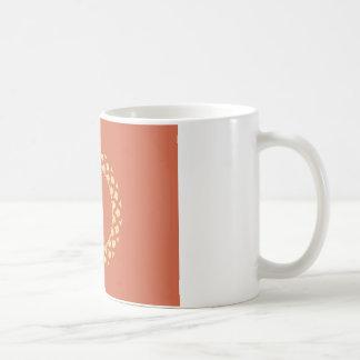 Autumn gold paper coffee mug