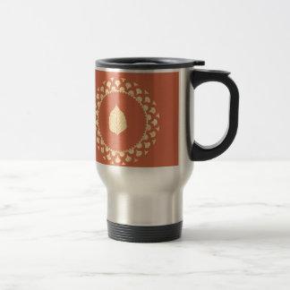 Autumn gold paper mugs