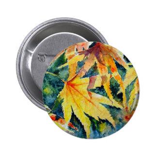 Autumn Gold Pinback Button