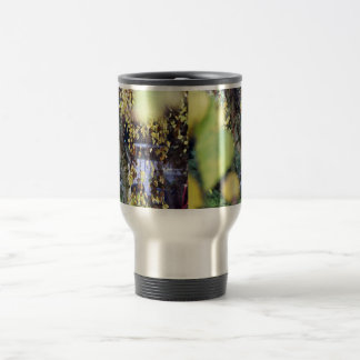 Autumn Golden Branches + Leaves Coffee Mug