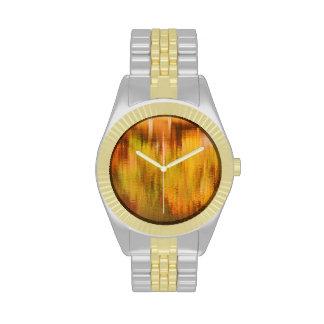 Autumn Golds Wrist Watch