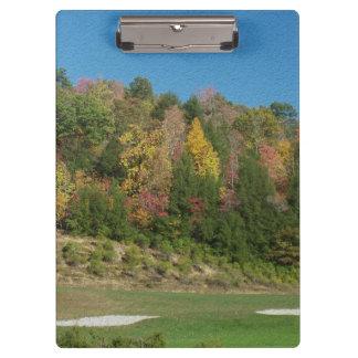 Autumn Golf Course Clipboard