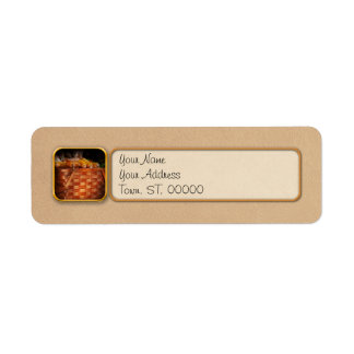 Autumn - Gourd - Fresh corn Return Address Label