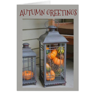 """***AUTUMN GREETINGS*** FOR ANY """"AUTUMN HOLIDAY/DAY CARD"""