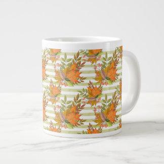 Autumn Hand Painted Illustration Large Coffee Mug