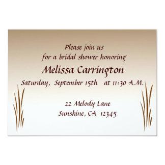 Autumn Harvest Bridal Shower 13 Cm X 18 Cm Invitation Card