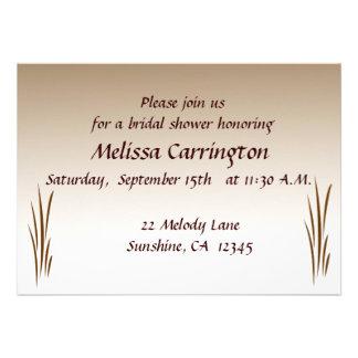 Autumn Harvest Bridal Shower Custom Invitation