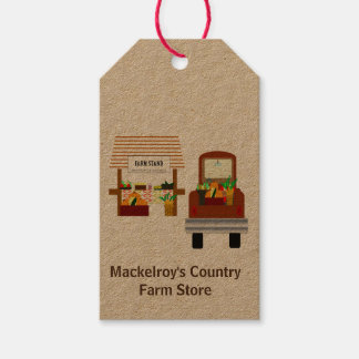 Autumn Harvest Gift Tags