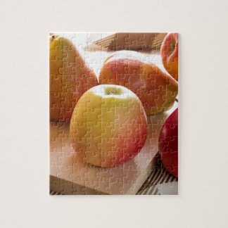 Autumn harvest of apples and pears jigsaw puzzle