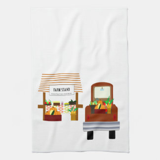 Autumn Harvest Tea Towel