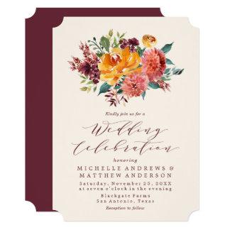 Autumn Harvest | Wedding Invitation
