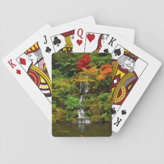 Autumn, Heavenly Falls Poker Deck