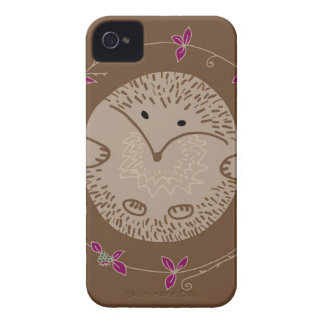 Autumn hedgehog iPhone 4 covers