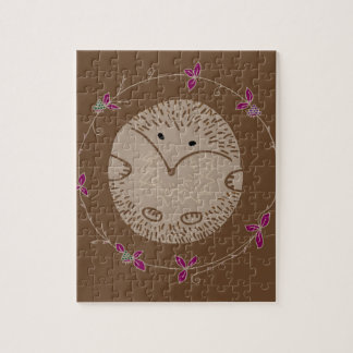 Autumn hedgehog jigsaw puzzle