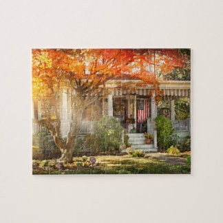 Autumn - Home is where your story begins Jigsaw Puzzle