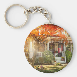 Autumn - Home is where your story begins Key Ring