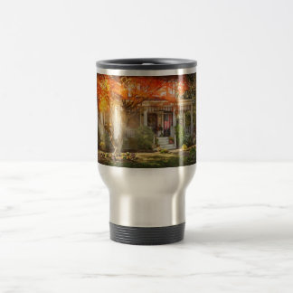 Autumn - Home is where your story begins Travel Mug