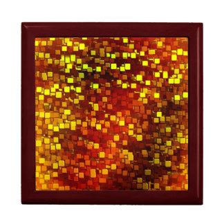 Autumn Honeycomb Digital Camo Large Square Gift Box