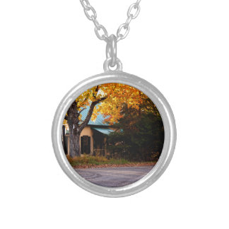 Autumn House Silver Plated Necklace