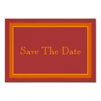 Autumn Hue Save The Date Card
