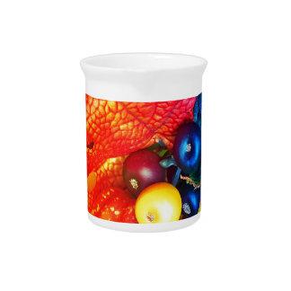 autumn impression pitcher