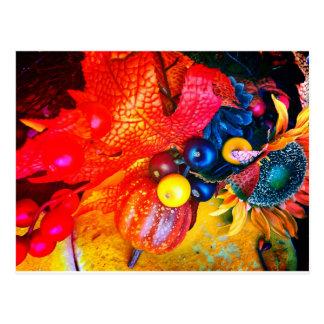 autumn impression postcard