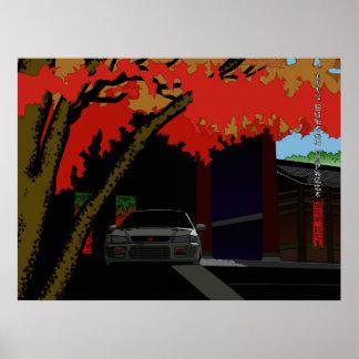 autumn impreza poster