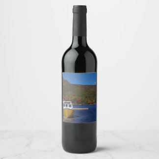 Autumn in Cape Breton Wine Label