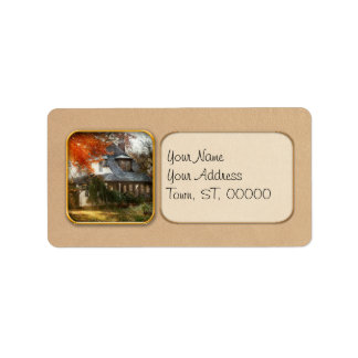 Autumn - In every fairy tale Address Label