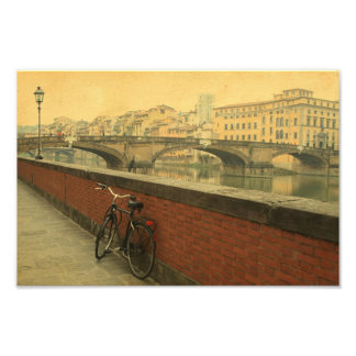 Autumn in Florence, vintage Photo Print