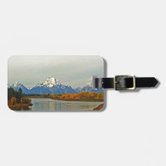 Autumn in Grand Teton National Park Luggage Tag