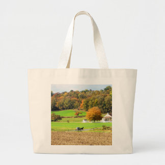 Autumn in Lancaster County, PA Jumbo Tote Bag
