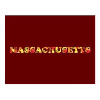 Autumn in Massachusetts Postcard