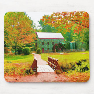 AUTUMN IN NEW ENGLAND MOUSE PAD
