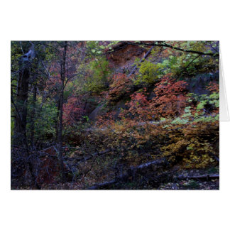 Autumn in Sedona Card