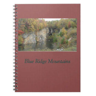 Autumn in the Blue Ridge Mountains Notebook