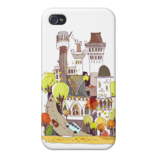 Autumn In The City iPhone 4 Case