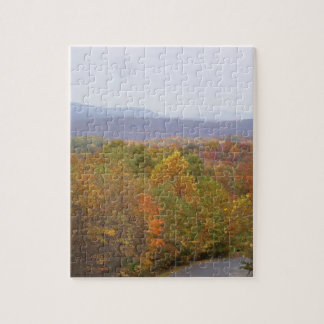Autumn In The Mountains Jigsaw Puzzle