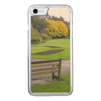 Autumn in the Park Carved iPhone 7 Case
