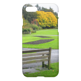 Autumn in the Park iPhone 7 Case