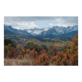 Autumn in the San Juans Poster