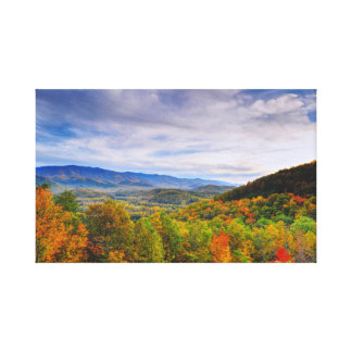 Autumn in the Smokies Canvas Print