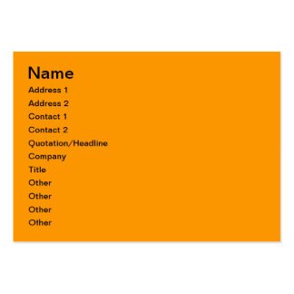 Autumn in the woods business card templates