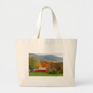 Autumn in Vermont Jumbo Tote Bag
