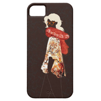 Autumn is coming barely there iPhone 5 case